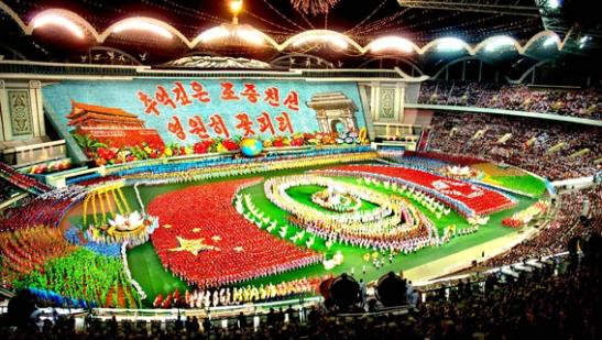 60 Year Anniversary of DPRK-PRC Friendship-themed Arirang Mass Games (Photo: Korean Central News Agency)