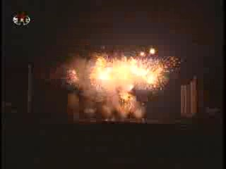 More fireworks in Pyongyang. (Photo: KCTV)
