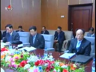 A 2010 meeting of borad members of the DPRK State Development Bank, linked to the Taep'ung Internati