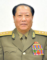 Gen. Choe Pu Il, Minister of the People's Security (Photo: Rodong Sinmun)