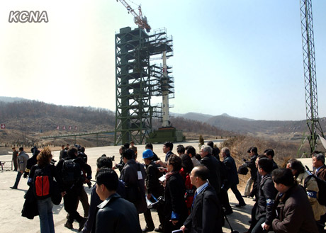 Sohae Satellite Launch Center in April 2012 (Photo: KCNA)