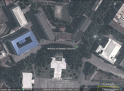 Ministry of People's Security headquarters (Photo: Google image)