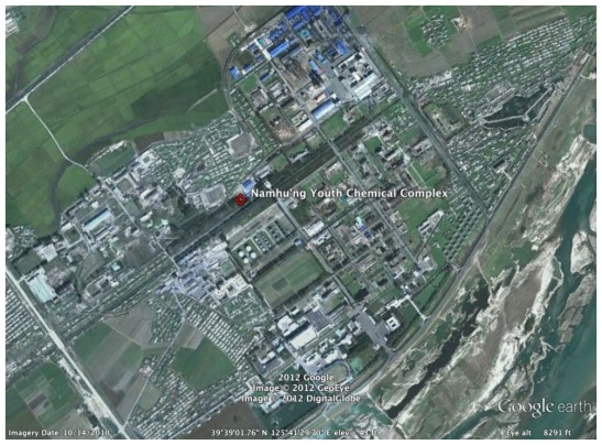 Overview of Namhu'ng Youth Chemical Complex (Photo: Google image)