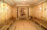 A sauna at the Ryugyong Health Complex in east Pyongyang (Photo: KCNA)