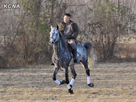 kim jong un horse