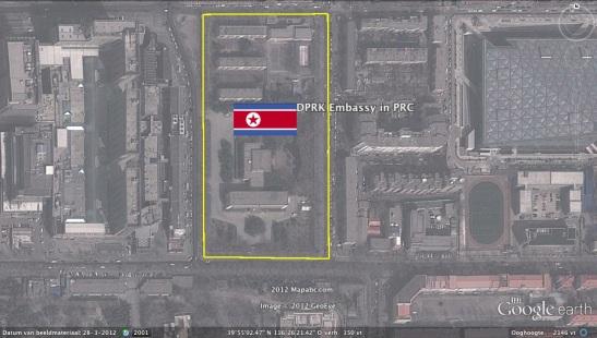 DPRK Embassy in Beijing (Photo: Google image)