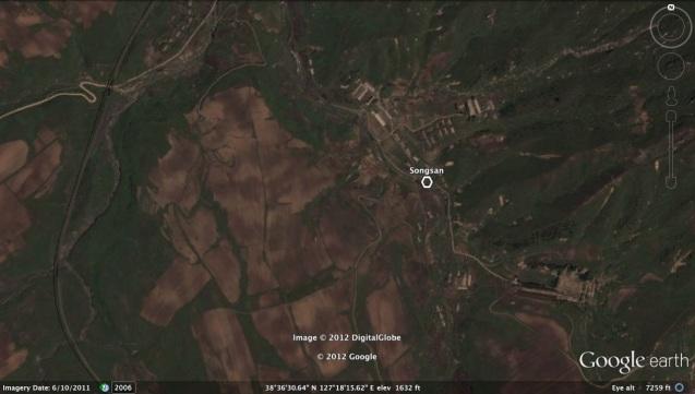 The Songsan area of Sep'o County, Kangwo'n Province(Photo: Google image).