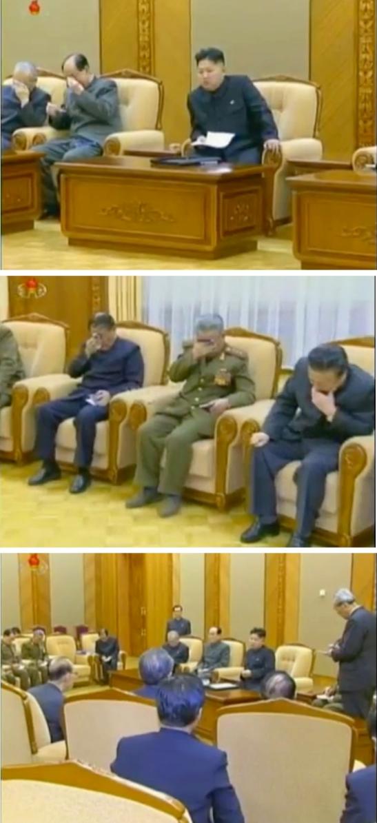 (Photos: KCTV/KCNA screengrab)
