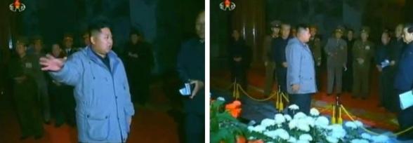 (Photos: KCTV/KCNA screengrabs)