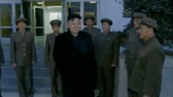 KJU departs from the GSCCC (Photo: KCTV screengrab)