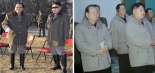 Kim Jong Un observed the launch of the U'nha-3 with Jang Song Taek and Pak To Chun (Photos: KCNA and KCNA/KCTV screengrabs)