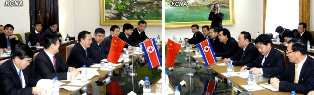 The 7th meeting of the DPRK-China Intergovernmental Cooperation Committee on Economics, Trade Science and Technology in Pyongyang on 9 January 2013 (Photos: KCNA)
