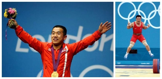 Om Yun Chol (L) and Kim Un Guk (Photos: KCNA/Korea Sports Fund)