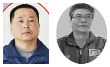 Coaches Pak Ki Song (L) And Ri Chun Gyong (R) (Photos: KCNA/Korea Sports Fund)