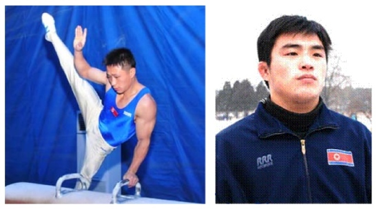 Ri Se Gwang (L) and Yang Kyong Il (R) (Photos: KCNA/Korea Sports Fund)