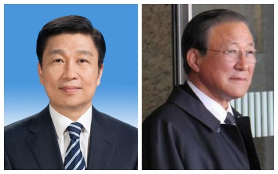 Chinese Vice President Li Yuanchao (L) and DPRK Ambassador to the PRC Ji Jae Ryong (R) spoke at an anniversary reception commemorating Kim Jong Il's 1983 visit to China held at the DPRK Embassy to China on 13 June 2013 (Photos: Xinhua and Yonhap)