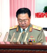 VMar Choe Ryong Hae delivers the report at a national meeting marking the 53rd anniversary of Military-First revolutionary leadership on 24 August 2013 (Photo: Rodong Sinmun).