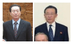 Chinese Special Envoy Wu Dawei (L) DPRK 1st Vice Minister of Foreign Affairs Kim Kye Gwan (R)