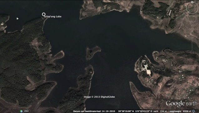 View of the central and east part of Yo'npu'ng Lake (Photo: Google image).