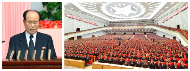 A national report meeting marking the 65th anniversary of the foundation of the DPRK, held at the 25 April House of Culture in Pyongyang on 8 September 2013 (Photos: Rodong Sinmun).
