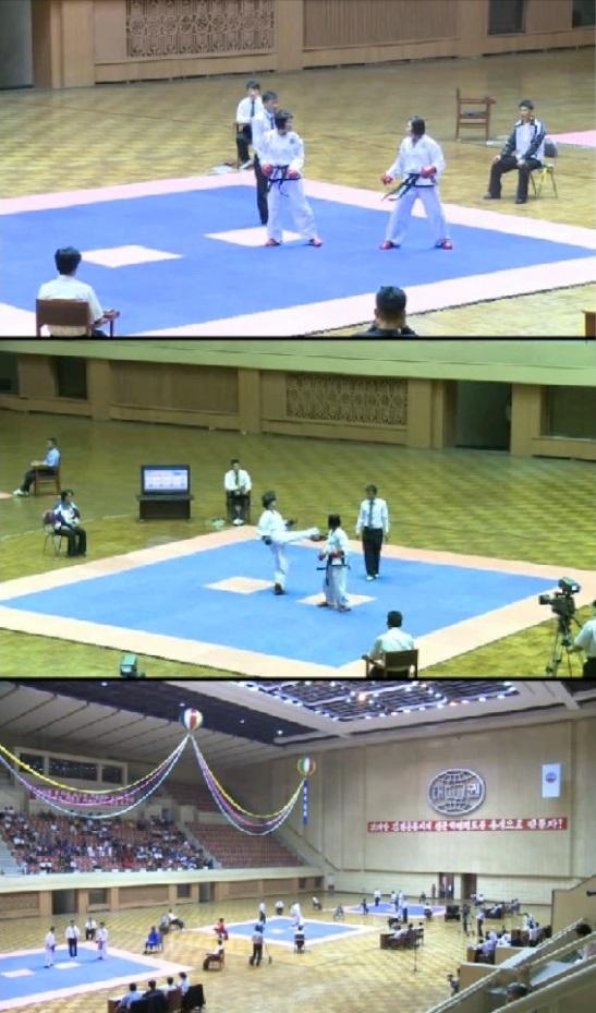 (Photos: KCNA screengrabs)