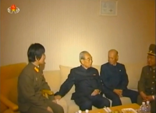 KWP Secretary and Director of the Propaganda and Agitation Department and KWP Political Bureau Member Kim Ki Nam (Photo: KCTV screen grab).