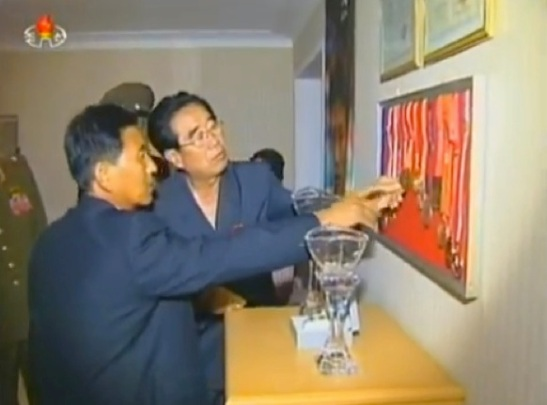KWP Secretary and Director of the Cadres' Affairs Department and KWP Political Bureau Alternate Kim P'yo'ng-hae (Photo: KCTV screen grab).