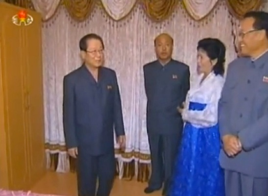 KWP Secretary and Director of the International Affairs Department and KWP Political Bureau Alternate Kim Yong Il (Photo: KCTV screen grab).