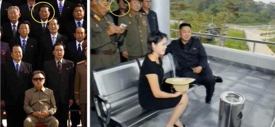 Paek Se Bong in September 2010 and August 2012 (Photos: KCNA/KCTV).