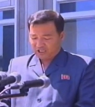 Jon Yong Nam, Chairman of the Kim Il Sung Socialist Youth League Central Committee (Photo: NK Leadership Watch file photo).