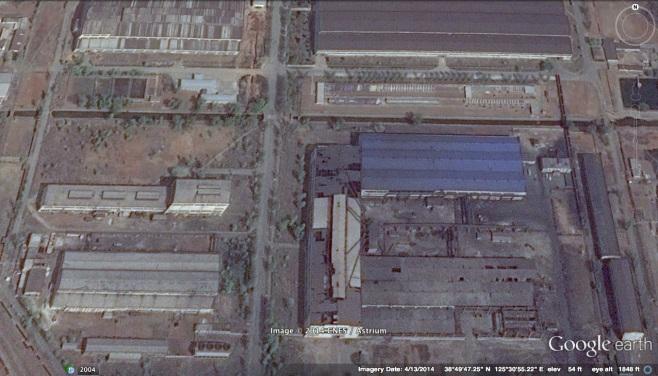 View of Taean Heavy Machine Complex (Photo: Google image).