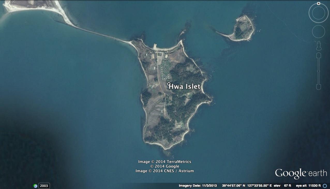 Hwa Islet (Photo: Google image).