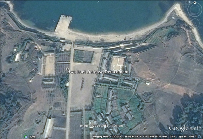 Hwa Islet Defense Detachment (Photo: Google image).