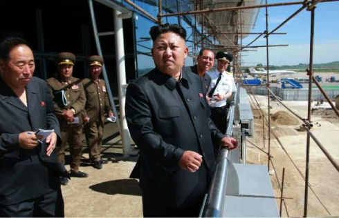 (Photo: Rodong Sinmun).