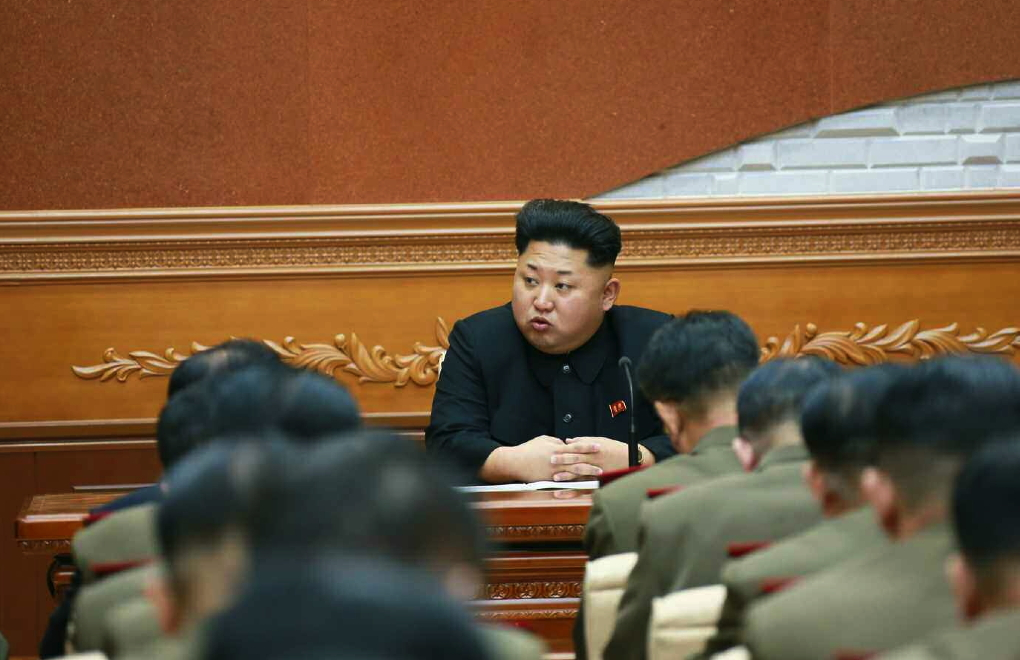Kim Jong Un at an expanded meeting of the Party Central Military Commission (Photo: Rodong Sinmun).