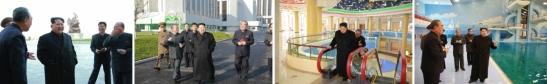 Kim Jong Un tours the renovated Mangyo'ngdae Schoolchildren's Palace (Photos: Rodong Sinmun/KCNA).