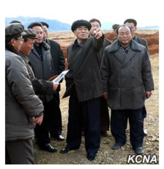 DPRK Premier Pak Pong Ju tours development work at the Sep'o stockbreeding zone (Photo: KCNA).