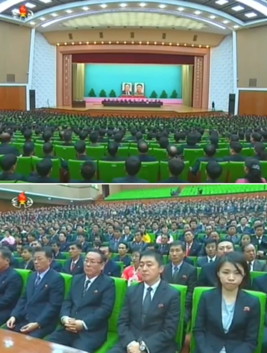 View of the People's Palace of Culture in central Pyongyang, the venue for a November 2 meeting marking the 70th anniversary of Rodong Sinmun (Photos: KCTV)