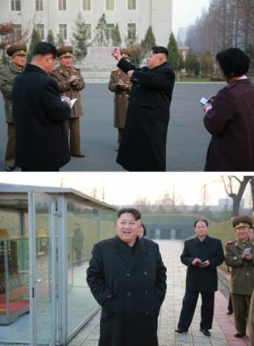 Kim Jong Un tours the P'yo'ngch'o'n Revolutionary Site in central Pyongyang (Photos: KCNA/Rodong Sinmun).