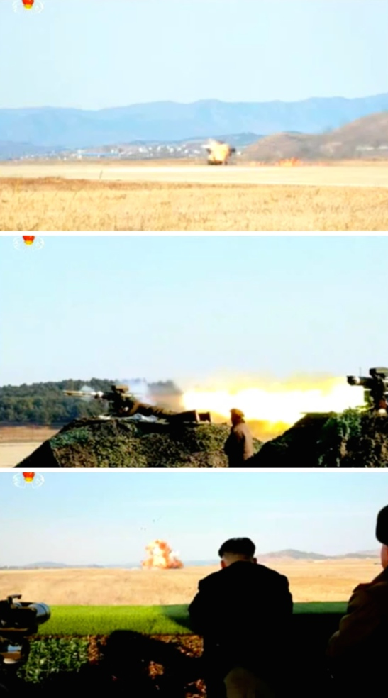 (Photos: KCTV/KCNA/NK Leadership Watch screen grab).