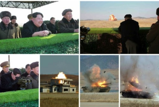 (Photos: KCNA/Rodong Sinmun).