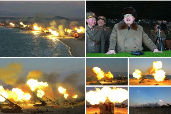 (Photos: Rodong Sinmun/KCNA).