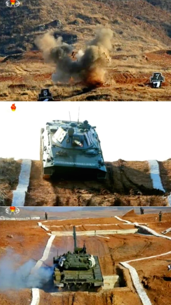 Views of the 2016 KPA Tank Competition (Photos: KCTV screen grab).