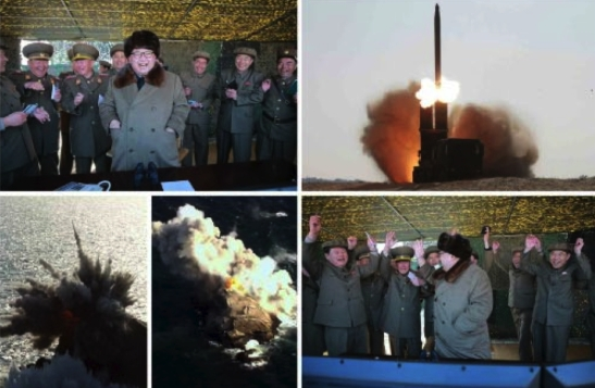 (Photos: Rodong Sinmun/KCNA)