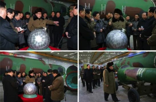 Kim Jong Un meets with senior nuclear weapons personnel (Photos: KCNA/Rodong Sinmun).