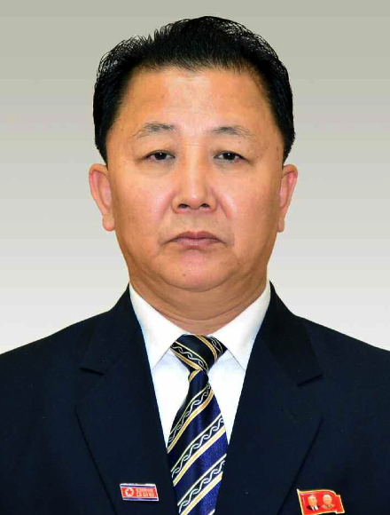 Jo Chun Ryong (Photo: Rodong Sinmun).
