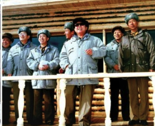 Kim Jong Il on a KPA field inspection in 1999. Also in attendance were Ri Yong Chol, General Pak Jae Gyong, Marshal Hyon Chol Hae and Kim Kyong Ok. Kim Kyong Ok is the only one of these officials who remains in power as a senior deputy director of the WPK Organization Guidance Department and member of the WPK Central Military Commission (Photo: Rodong Sinmun).