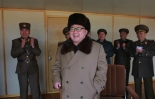 Kim Jong Un observes the test of anti-aircraft rockets (Photo: Rodong Sinmun).