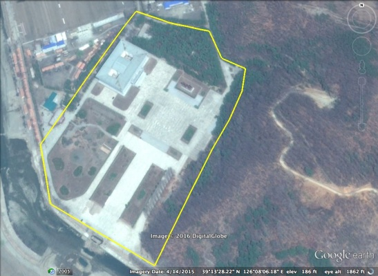 View of Kunja-ri located between Kangdong County, Pyongyang and So'ngch'o'n, South P'yo'ngan Province (Photo: Google image).