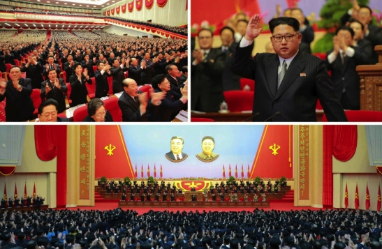 The fourth and final day of the Seventh Congress of the Workers' Party of Korea on May 9, 2016 (Photos: Rodong Sinmun-KCNA).